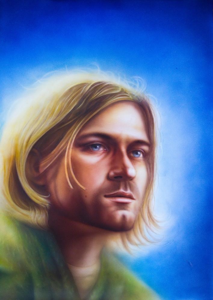 Kurt Cobain par MaxDmytriv